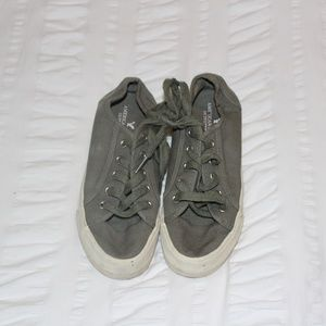 American Eagle Outfitters Shoes - American Eagle Olive Sneakers